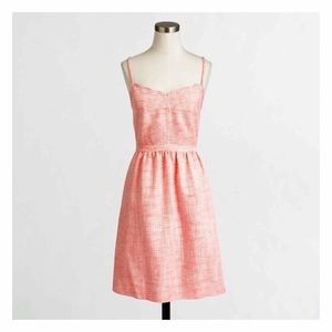 NWT J. Crew Factory Scalloped Cami Dress